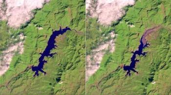 中南部2年前後「水庫對比圖」曝光 網:根本沙漠化!