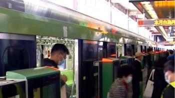 久等了!台中綠線重啟試營運 盧秀燕搶搭首班車