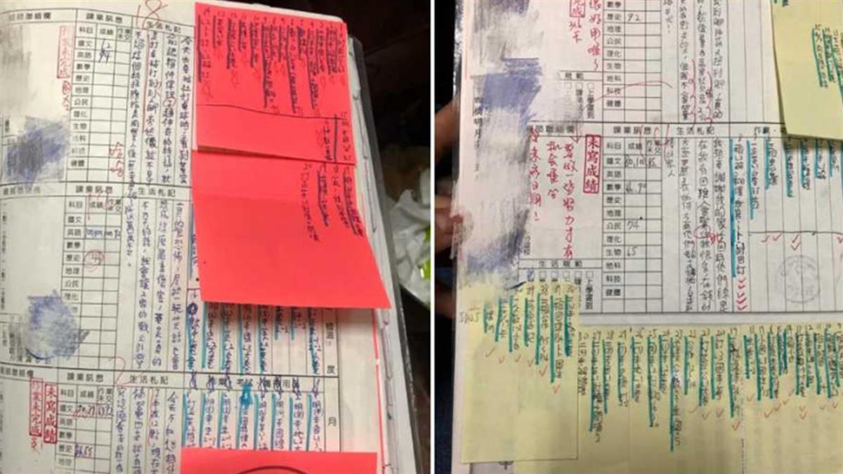 國中聯絡簿42條作業!半夜1點寫不完 網:看到頭皮發麻