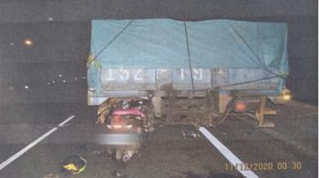 獨/29歲男演員撞上違停大貨車慘死 肇事主因竟是死者害的