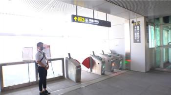 中捷站體設施有瑕疵?記者實測「這出口有問題」