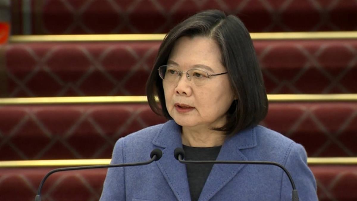 新疆棉風波 蔡總統籲北京正視維吾爾族人權