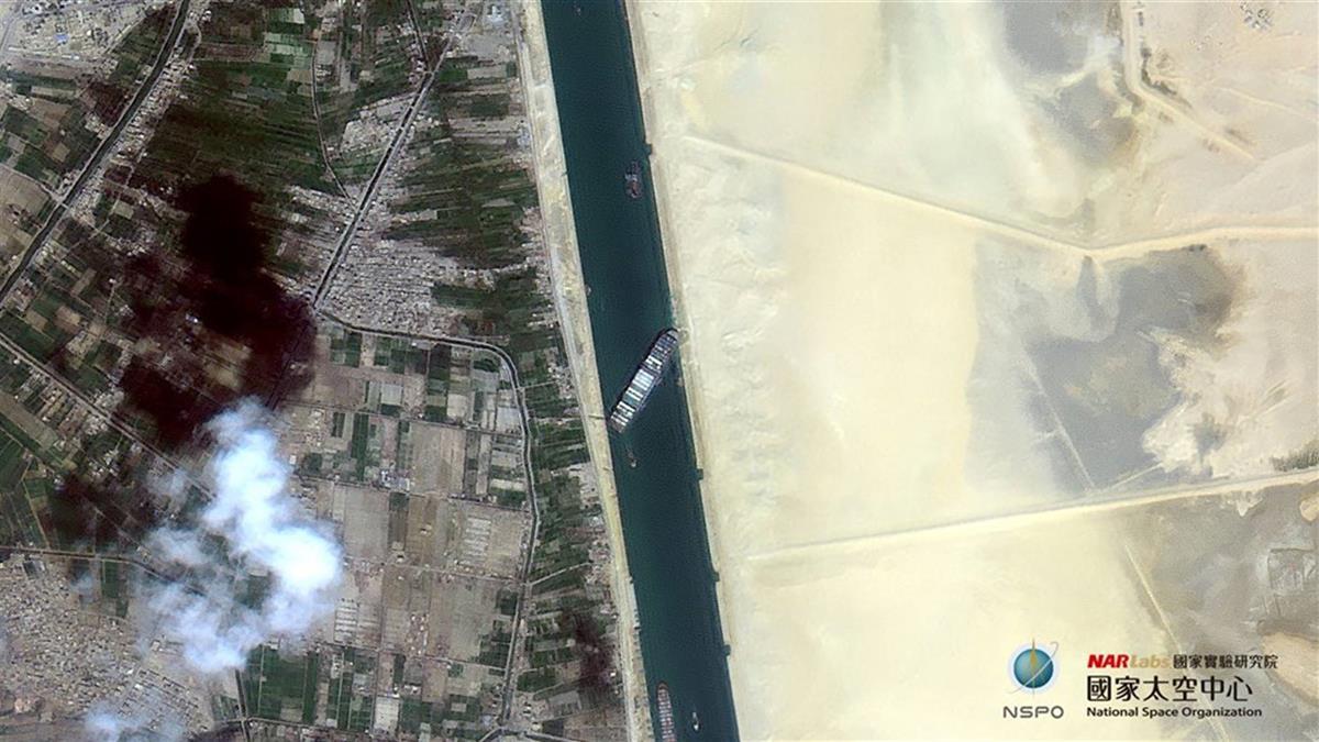 長榮貨輪卡蘇伊士運河已完成87%挖沙 土耳其伸援