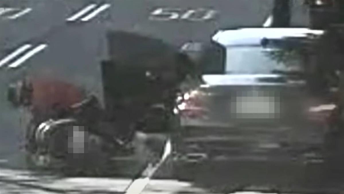 控違停車門害撞索賠 警揭「1月8起」遭車門擊落案