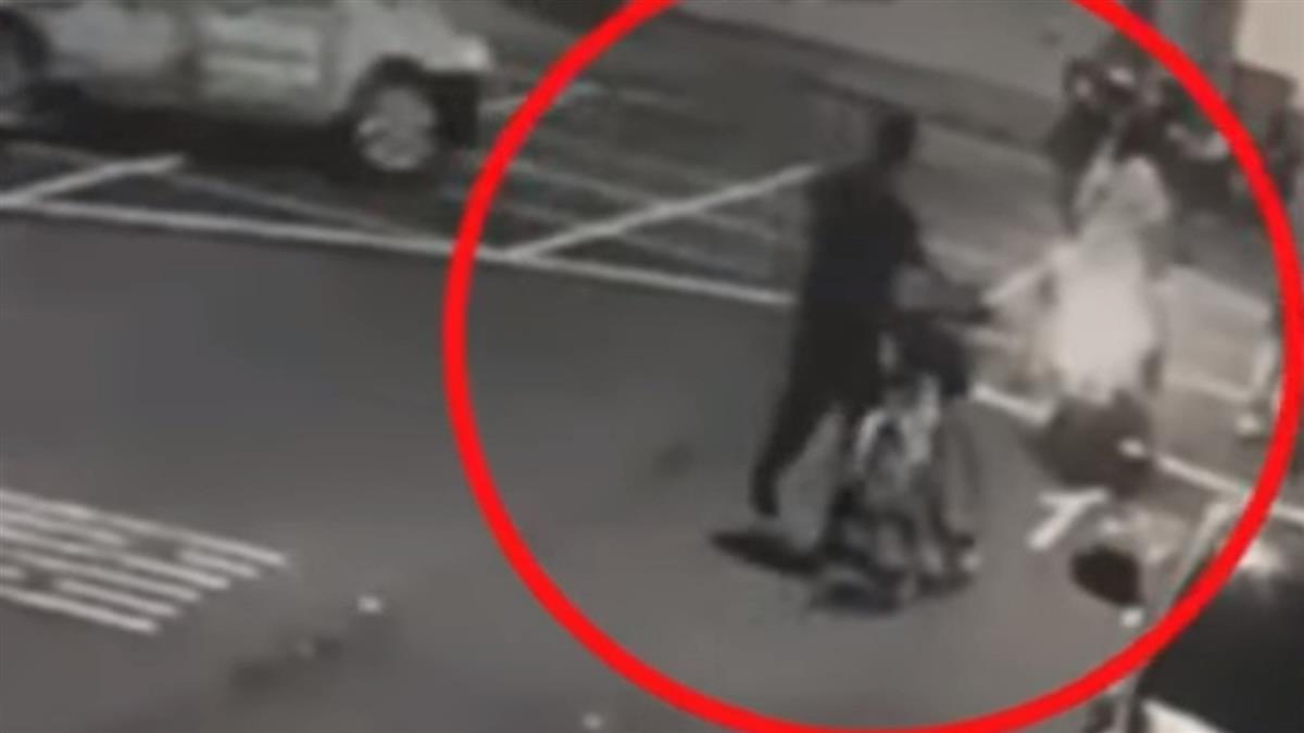 醉騎單車蛇行被叭爆衝突 騎士控「禮讓反遭按喇叭」