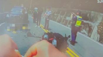 又是無照!15歲少年衝台三線「阿婆灣」 撞對向卡車底滿臉血命危