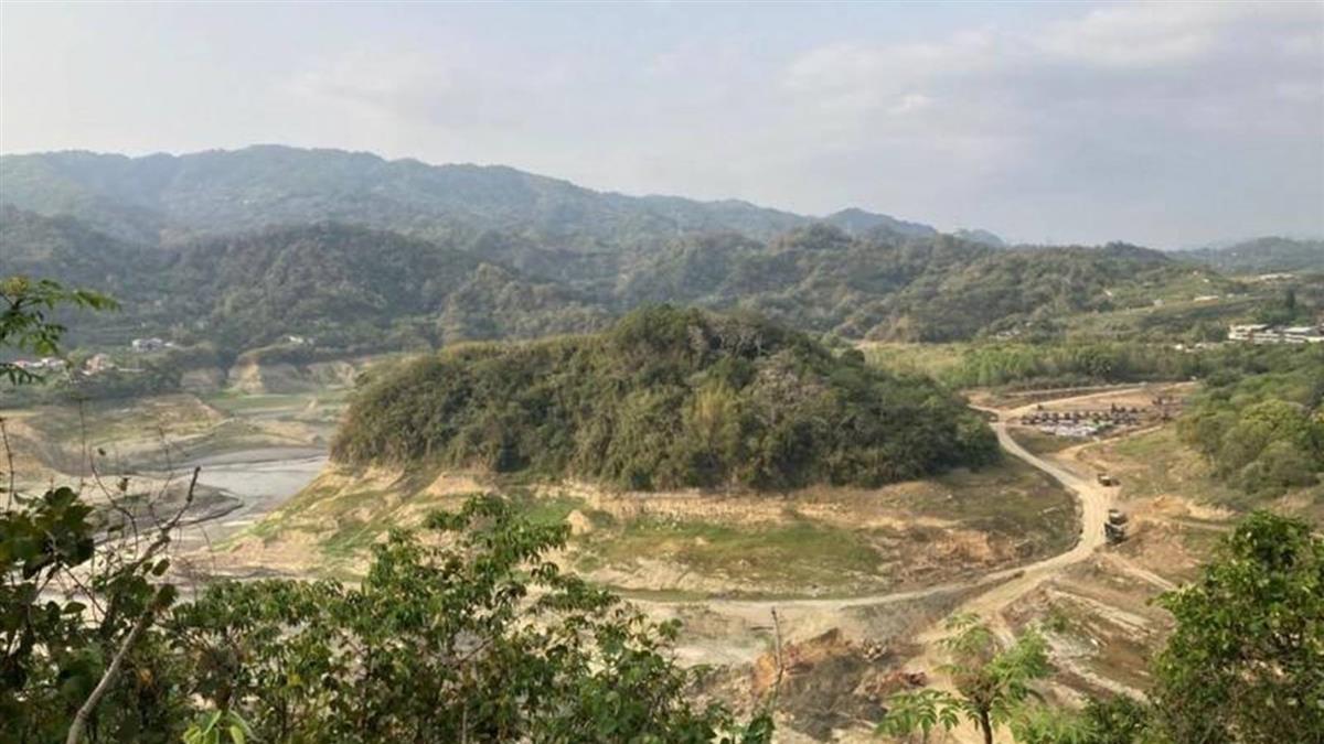 苗栗2水庫水位驟降 水利署趁機擬清淤57萬噸