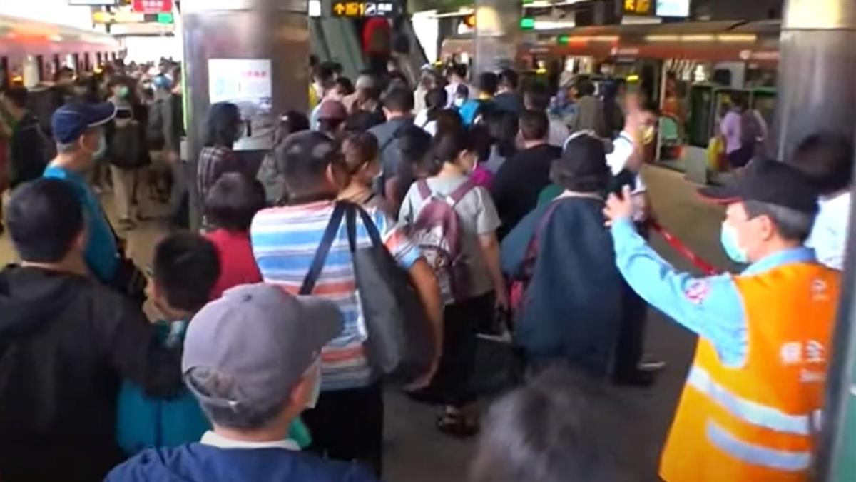 爆棚!人潮強勢回歸 中捷首周末單日近10萬人次搭