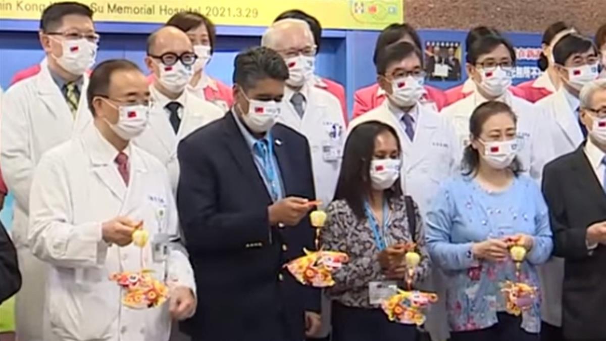 帛琉總統夫婦完成健檢 對台醫療感覺「印象深刻」