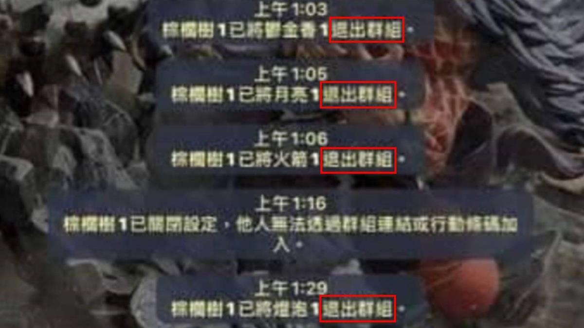 台中男大生遭霸凌輕生亡 教官噤言學生「提起就踢出群組」