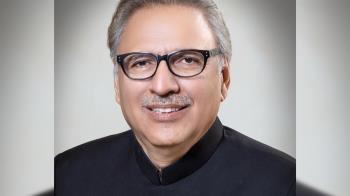 接種首劑疫苗 巴基斯坦總統染疫