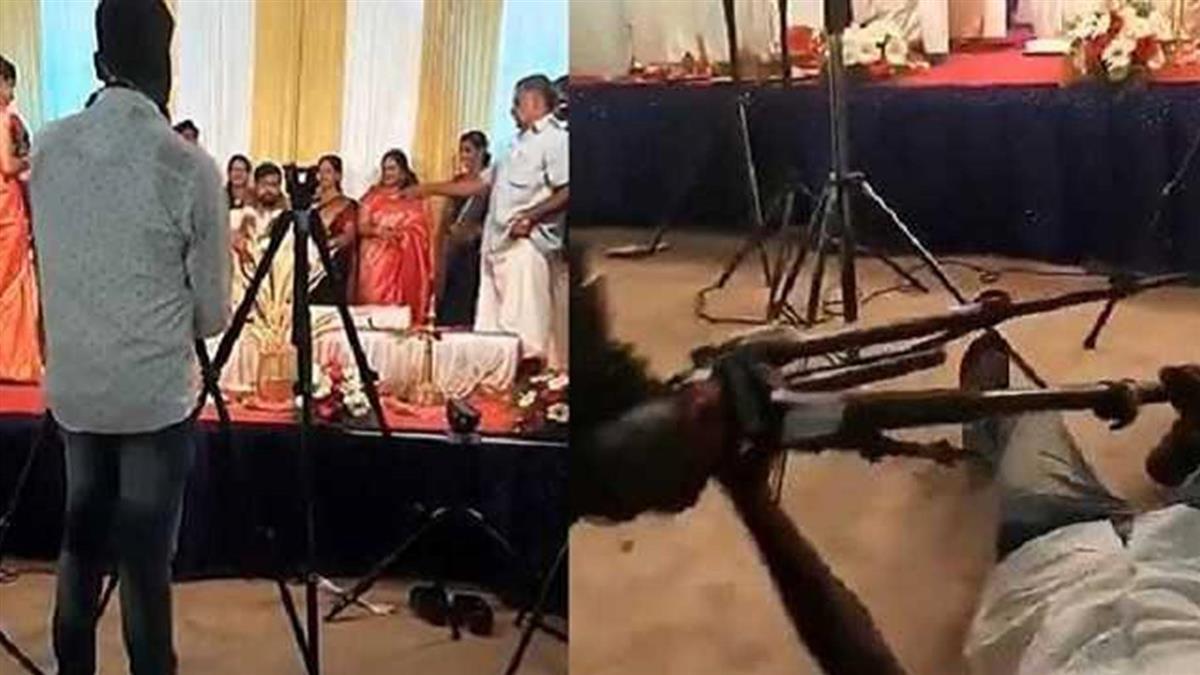 攝影師婚禮倒地猝逝 「死前緊握腳架」畫面曝