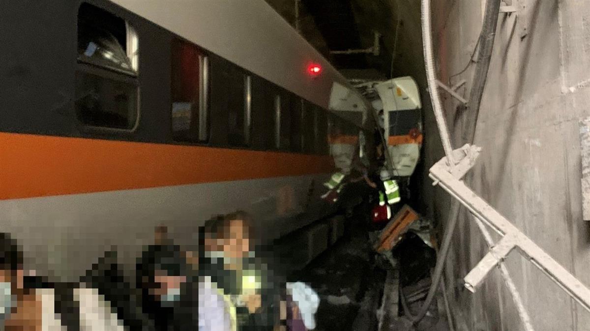 太魯閣號乘客摸黑逃命畫面曝 已4命危23傷