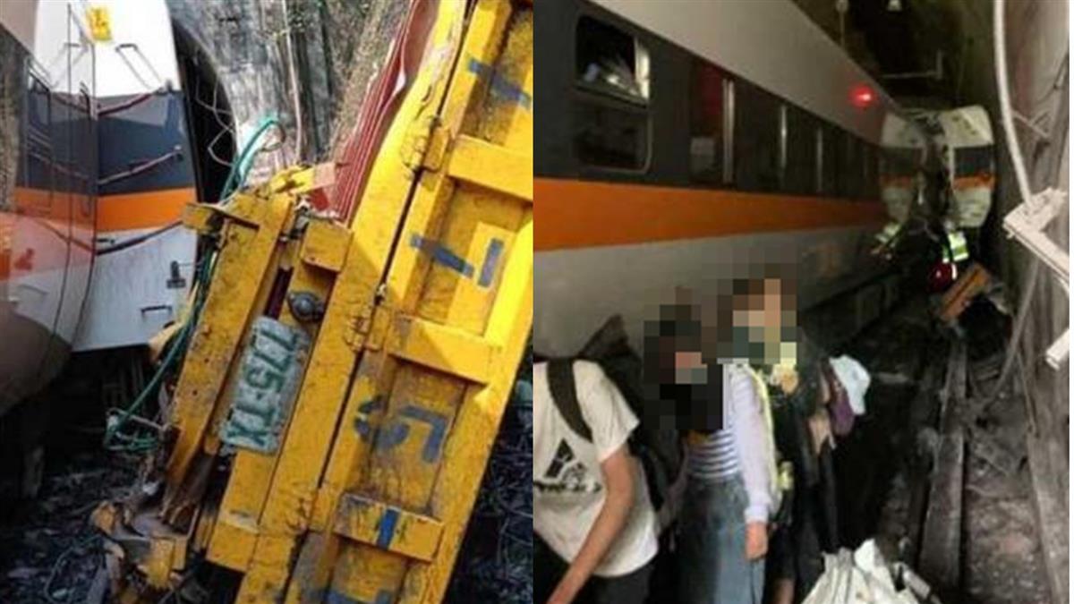 太魯閣號出軌36死!乘客奔逃「隧道被大石卡住」:還好手沒斷