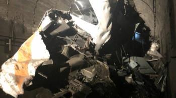 廠商工程車滑落撞太魯閣釀36死68傷 台鐵將求償