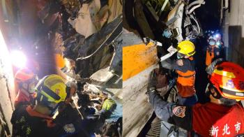 台鐵出軌已48死 花蓮人急求「大體袋、帆布袋」