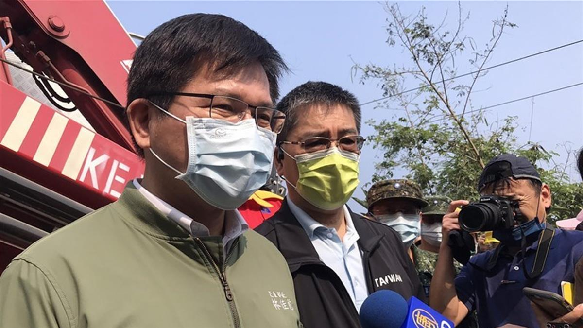 太魯閣號事故 林佳龍道歉表明負政治責任