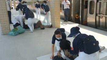 掃墓與友遇意外!後4節車廂撞慘 旅客哽咽