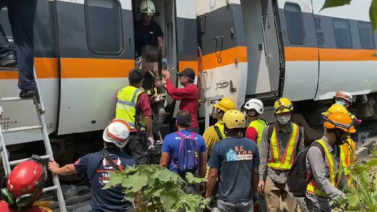 太魯閣號出軌釀50死 30名罹難者身分已確認