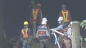 搜救Day4拉離5車廂 設法移出困6車廂下最後遺體