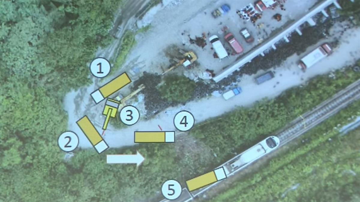 快訊/運安會還原工程車滑落軌跡 現場還有「另1輛車進入」