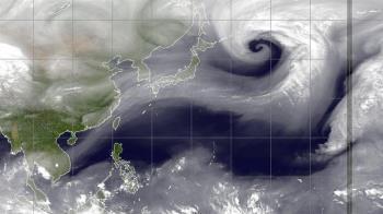 「有下雨機會囉!」鄭明典一張圖曝絕美螺旋線條