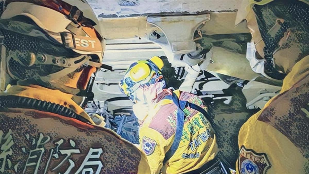 「救到不能救!」消防員吐前線血淚 6千字記錄太魯閣任務