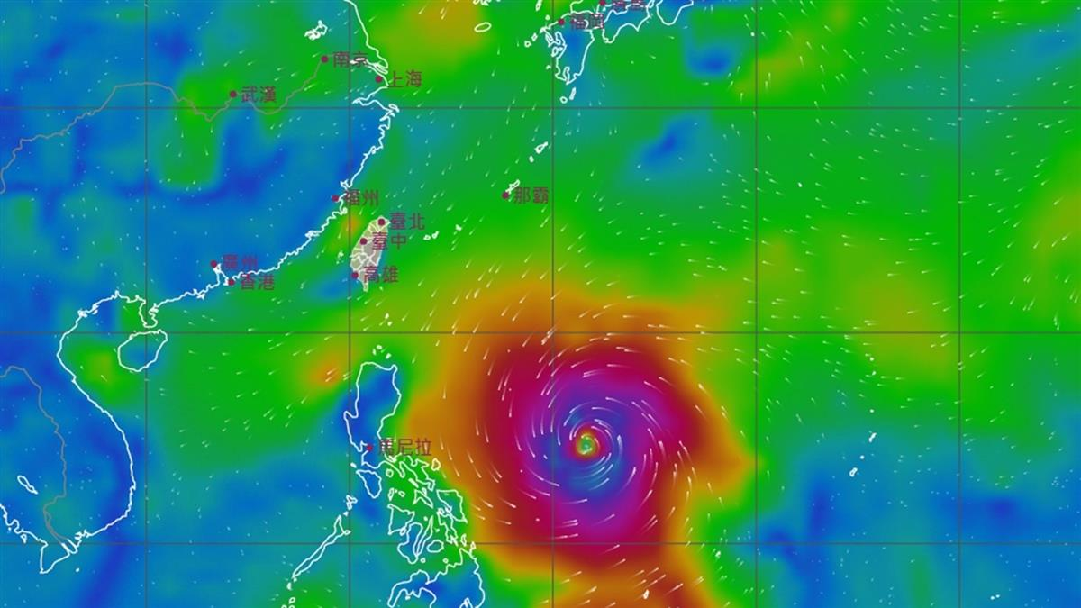熱帶低壓狂吸水氣 下周恐有「巨型颱風」北衝路徑曝