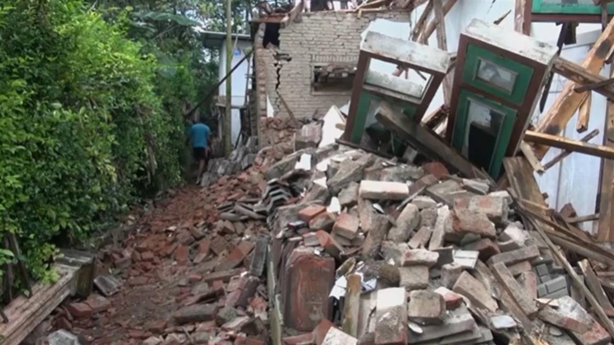 印尼東爪哇6.1地震釀8死 清真寺等千餘棟建物受損