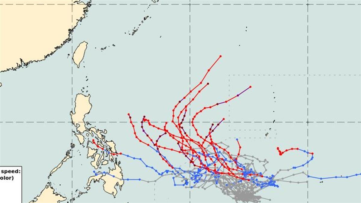 準2號颱風恐周三生成!明晚起濕涼狂掉13度 這天才轉晴