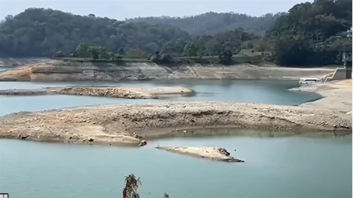 德基水庫水量創新低 台中民生用水恐變「供四停三」