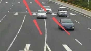 路口3分鐘27車違規 62萬人壓線罰金達5億