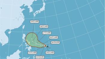 舒力基不排除變強颱  台灣「濕冷轉乾冷」:無助降雨