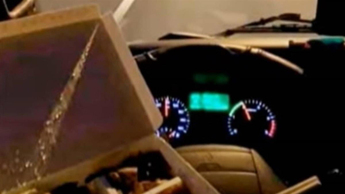 PO文「方向盤就是我的飯桌」 危險駕駛惹議遭罵翻