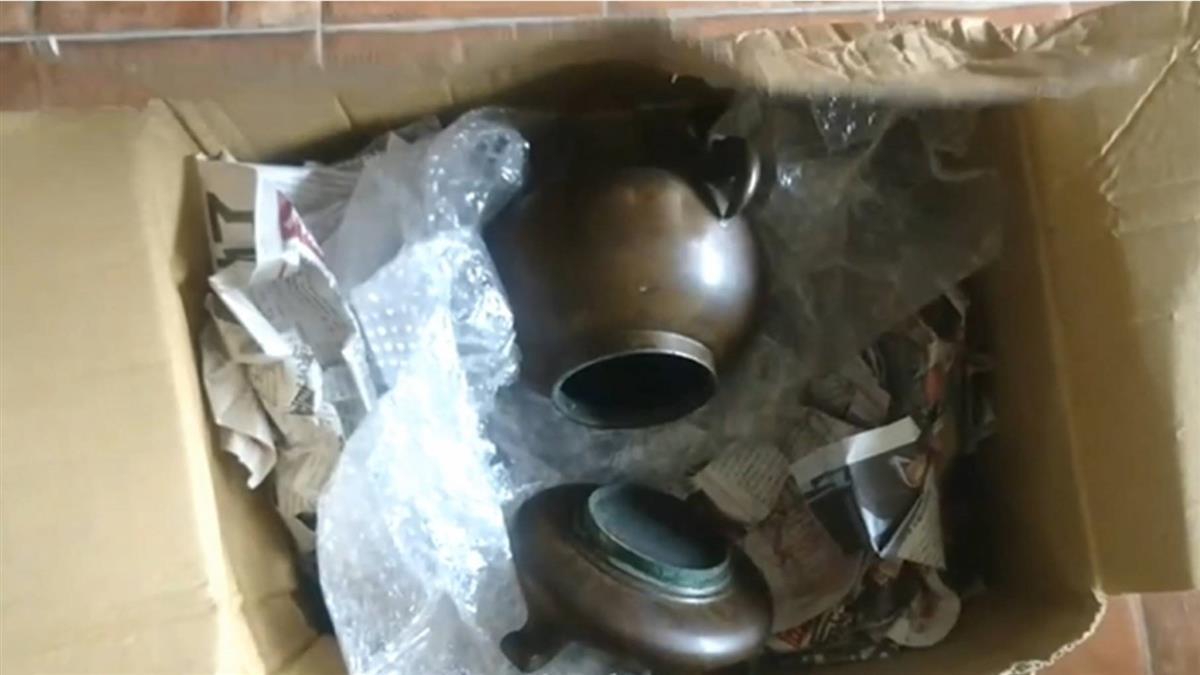 獨/賣家控銅花器寄送遭壓壞 怒批物流拒賠還「改公告卸責」