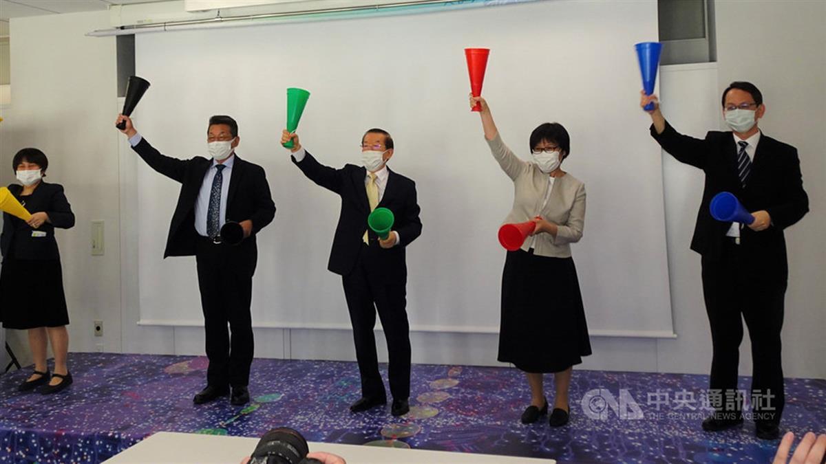 首位參加奧運台灣人張星賢展開幕 提高東奧氣氛