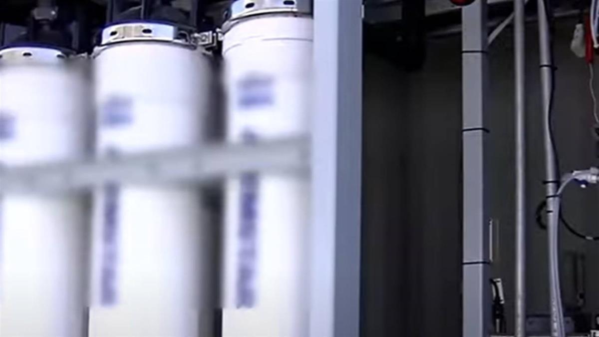 獨/拯救台中用水!首座大型RO淨水啟用 供企業取水