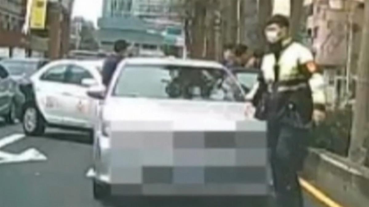 桃園市議會前警匪追逐 疑夫挾持妻逃逸