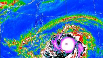 快訊/舒力基變強颱!這2天最靠近台灣 降雨熱區出爐