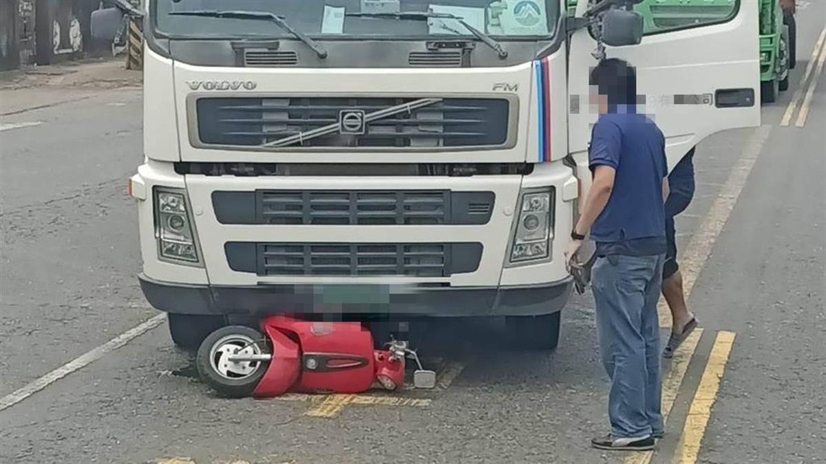 25歲女外送飲料遭輾斃 肇事者就是訂餐砂石車司機