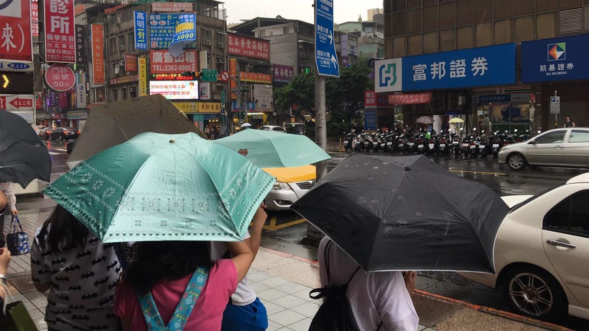 這2天水氣移入「全台有雨」彭啟明:比午後雷陣雨大