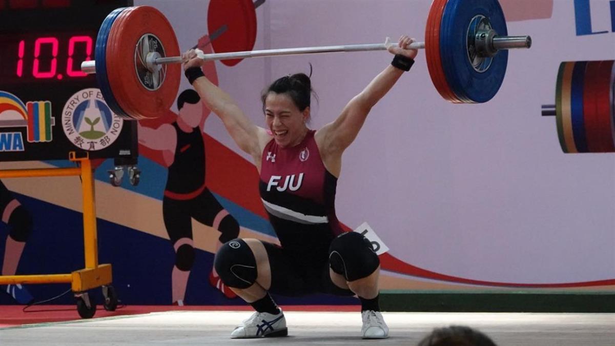 郭婞淳破世界紀錄!抓舉110公斤摘金 確定前進奧運