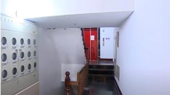 獨/花蓮地震公寓牆裂「磚牆碎滿地」住戶見這一幕嚇壞