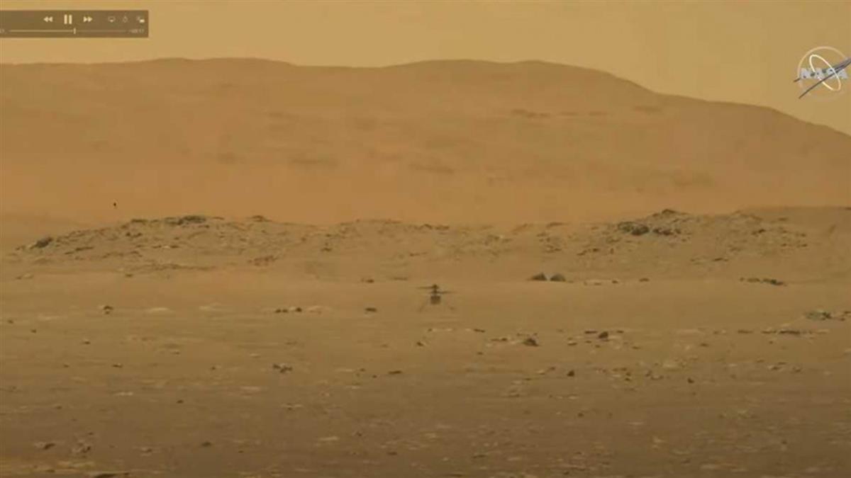 NASA火星試飛直升機 39秒影片曝光!