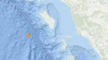 快訊/印尼尼亞斯6.0強震!震源深度僅10公里 急發海嘯警報