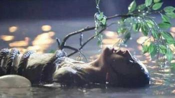 劉亦菲拍戲受傷「插滿長針」 驚悚畫面曝光