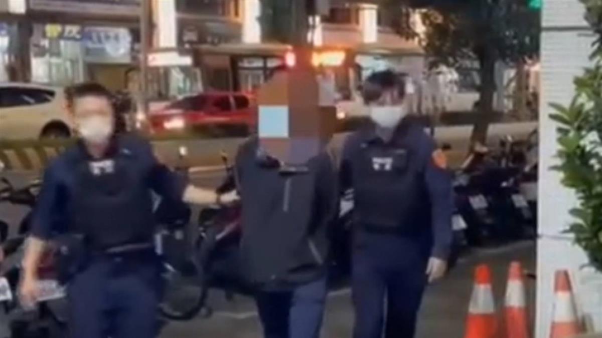 女控過馬路遭攻擊 男子澄清「僅是防衛」 警:調查中