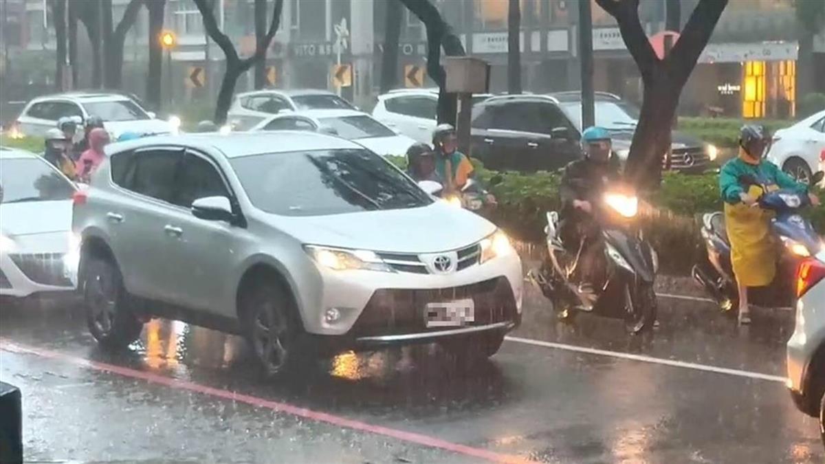 2波降雨來了!周日起一路連濕5天 下雨熱區廣全台都有