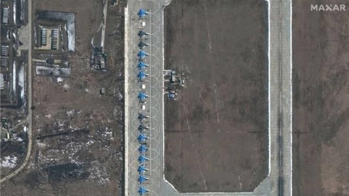 俄羅斯被指在烏克蘭邊界加強陸海空部署 「為入侵做凖備」