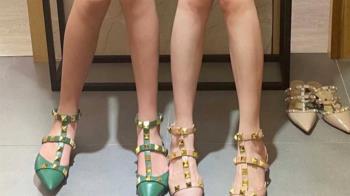 白皙腿模試穿高跟鞋 驚人身分曝網嚇壞:天理何在